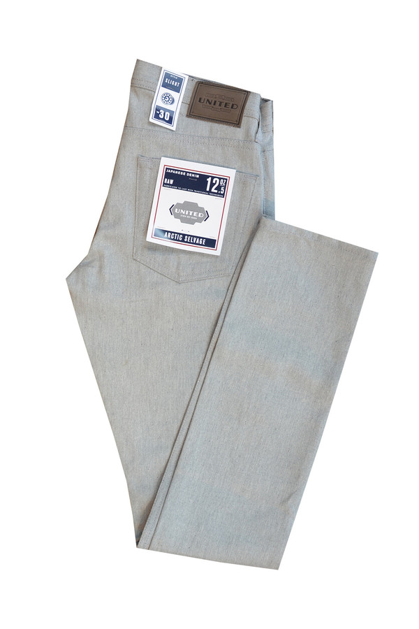 Men's United Stock Dry Goods Arctic Gray Slight Jean