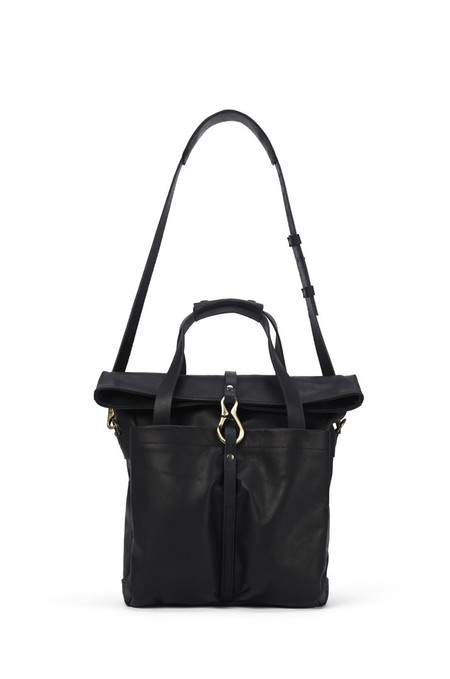 Lowell MANSFIELD BLACK NAPPA LEATHER