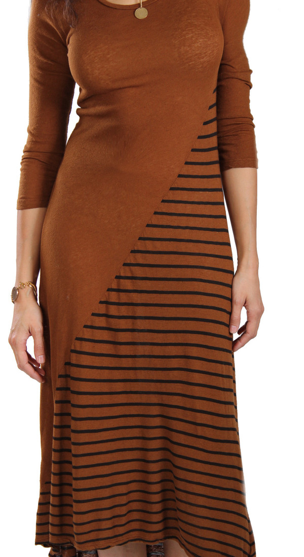 My Line Aspen Contrast Dress