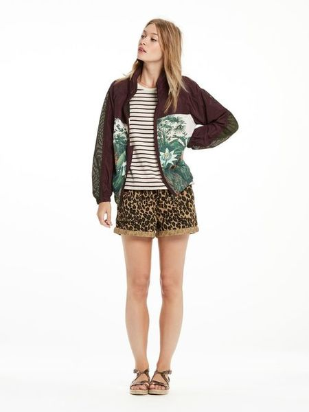 Maison Scotch Photoprinted Sport Jacket