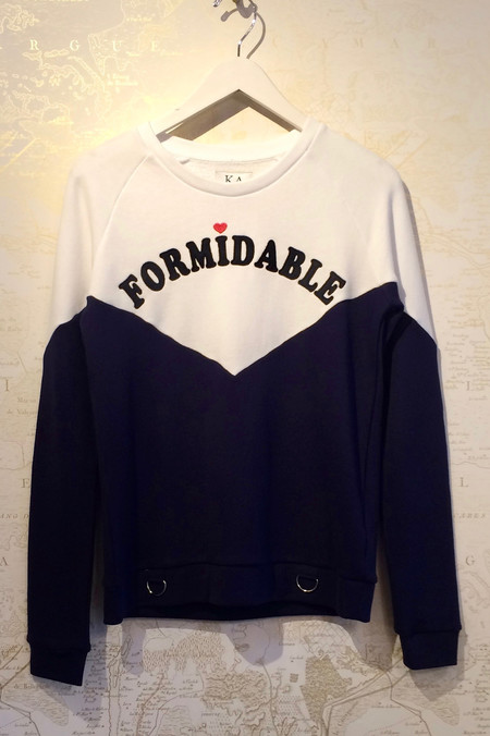 Zoe Karssen 'Formidable' Sweatshirt