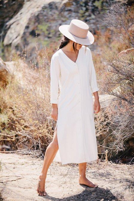 Ozma - Mal Pais Dress - Natural