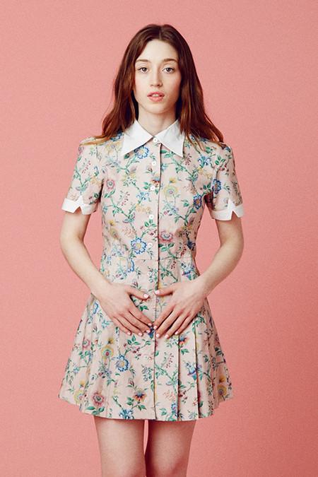 Samantha Pleet Wallflower Dress - Pink Wallpaper