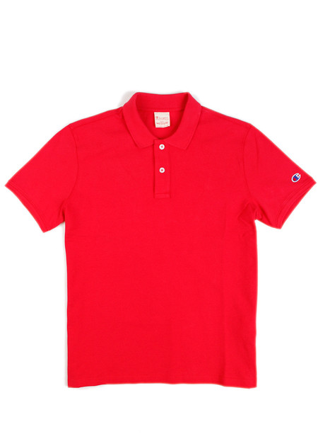 Champion Reverse Weave Polo Red