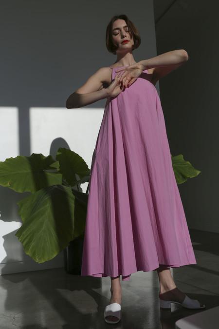 Sayaka Davis Strap Dress in Barragan Pink