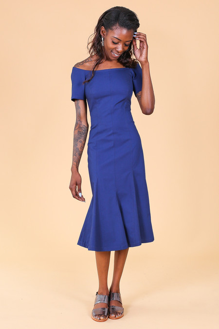 Creatures of Comfort Azule Dress in Navy