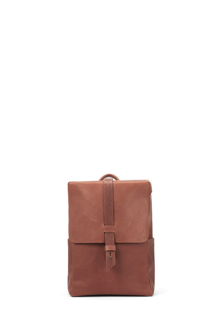 Lowell HUTCHISON COGNAC NAPPA LEATHER