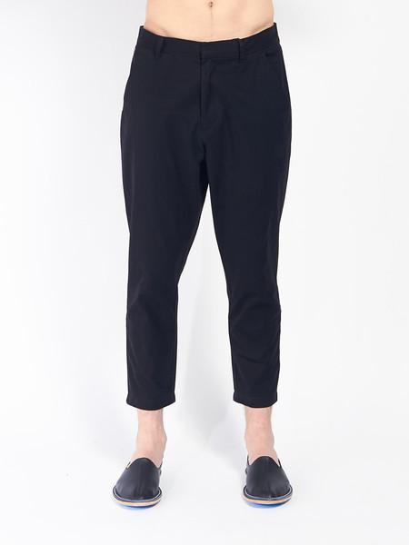 Journal Sea Pants Cropped Black