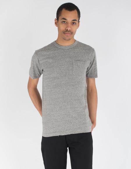 National Athletic Goods Pocket Tee Sport Grey