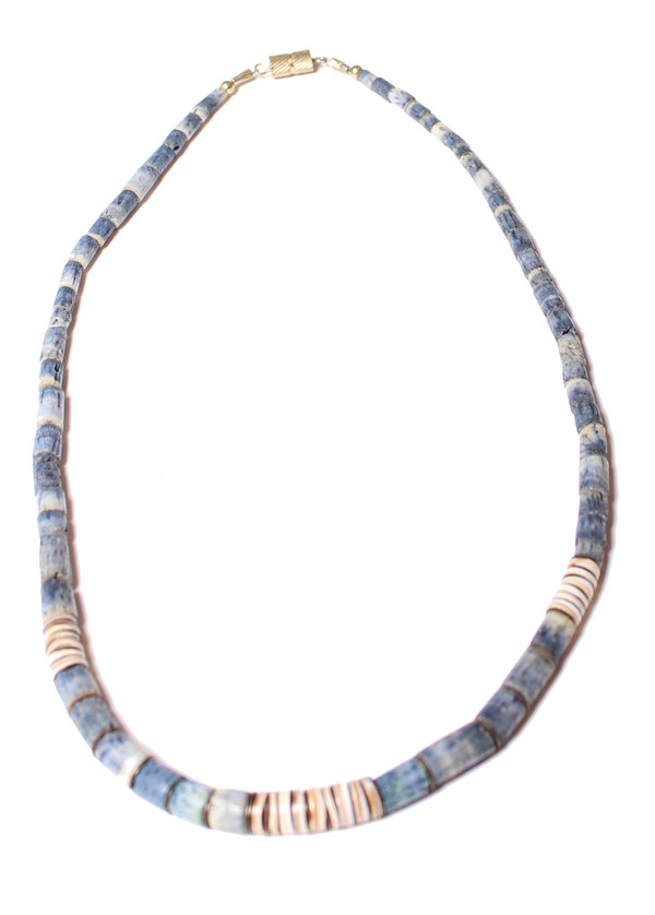 Abel Indigo Strand Necklace