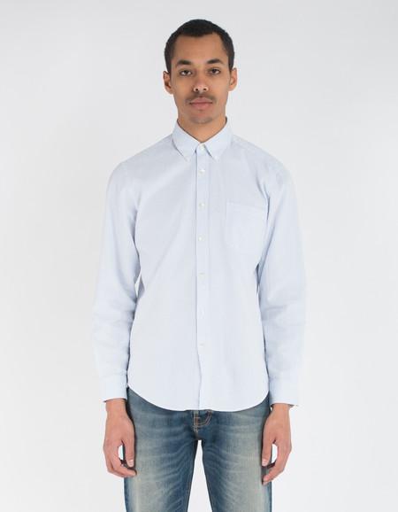 Portuguese Flannel Atlantico Shirt Blue