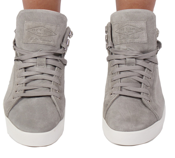 Rag & Bone Kent High Top in Light Grey