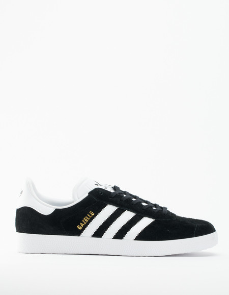 adidas Gazelle Core Black White Gold