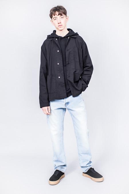 Très Bien Work Jacket Black Overdye