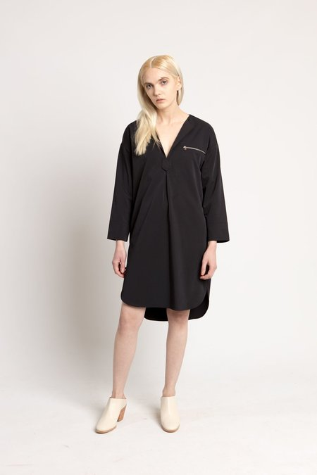 Nomia Midnight Navy Oversized Tunic Dress