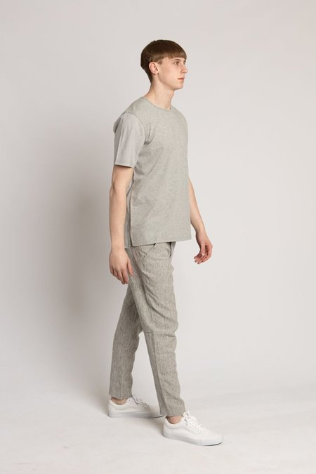Wings + Horns Ash Grey Washed Linen BDU Pant