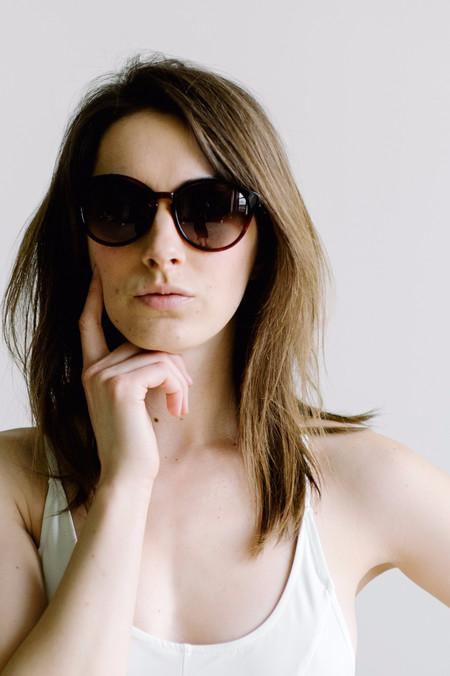Shwood Bailey Sunglasses - Sangria