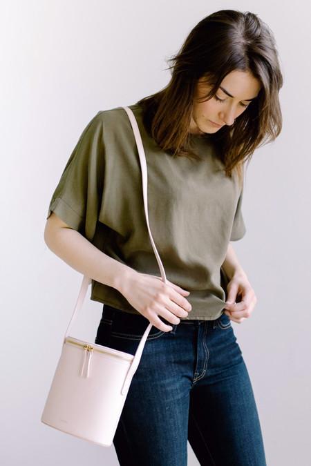 Cuero & Mor Mini Bucket Bag - Blush