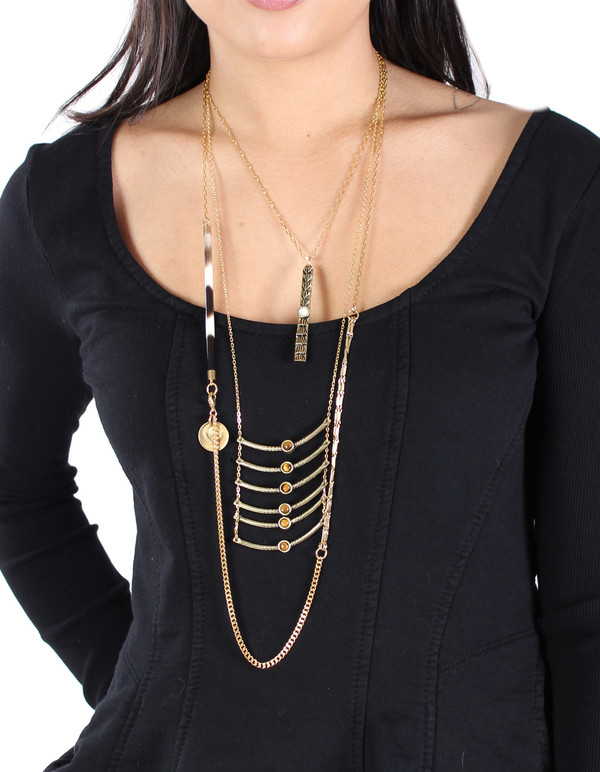 Ax + Apple Sheba Necklace
