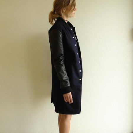 Oak Varsity Jacket - Long Double Front