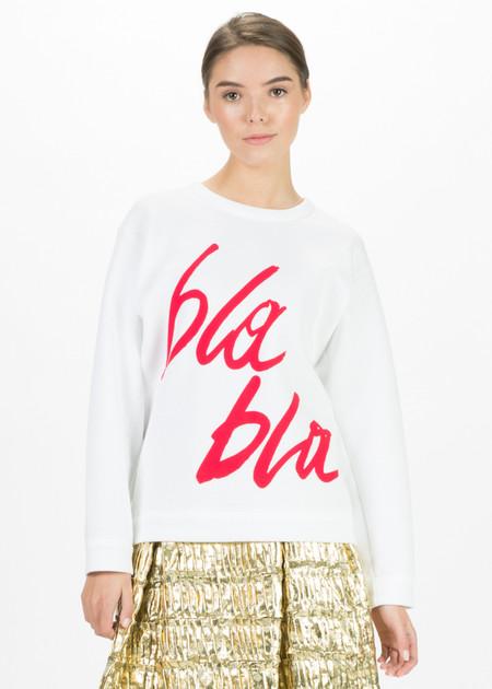 Odeeh Bla Bla Script Sweater