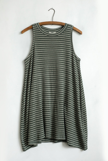 Hayden Striped Swing Dress