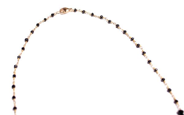 James and Jezebelle Spinel Fringe Necklace