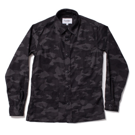 Corridor Black Camo Overshirt