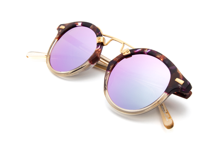 Krewe du Optic St. Louis Sunglasses in Stardust to Champagne