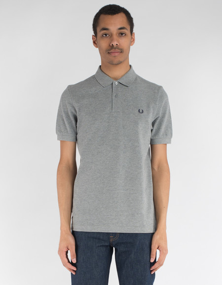 Fred Perry Plain Polo Steel Marl