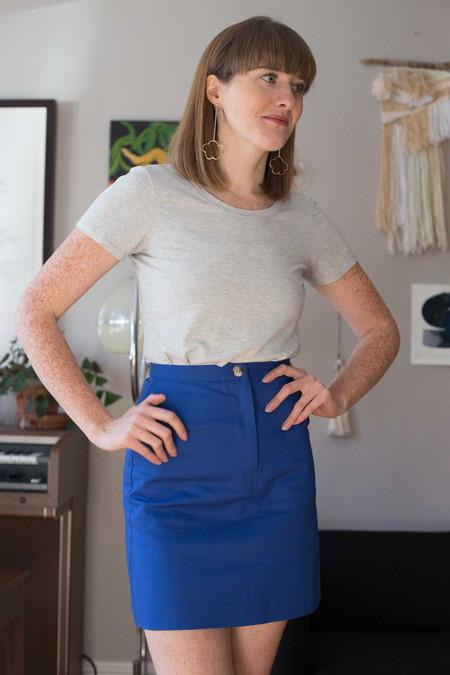 Betina Lou Mona Skirt (Blue)