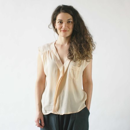 Dagg & Stacey Hopper Blouse in Blush