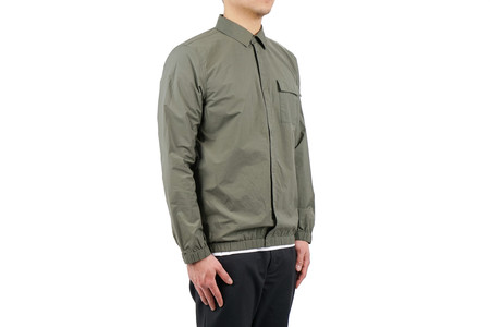 Norse Projects JENS CRISP COTTON - DRIED OLIVE