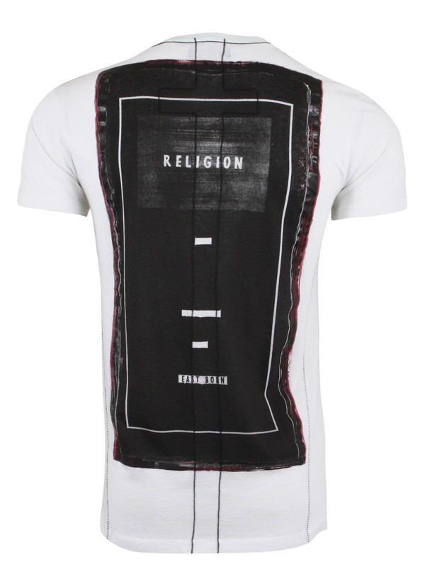 Religion Into Black T-Shirt