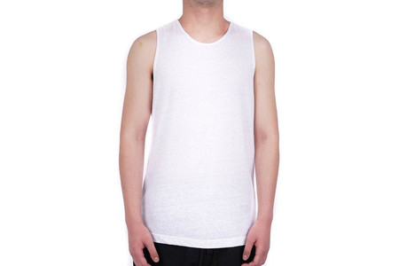 Chapter RO SLEEVELESS T-SHIRT - WHITE