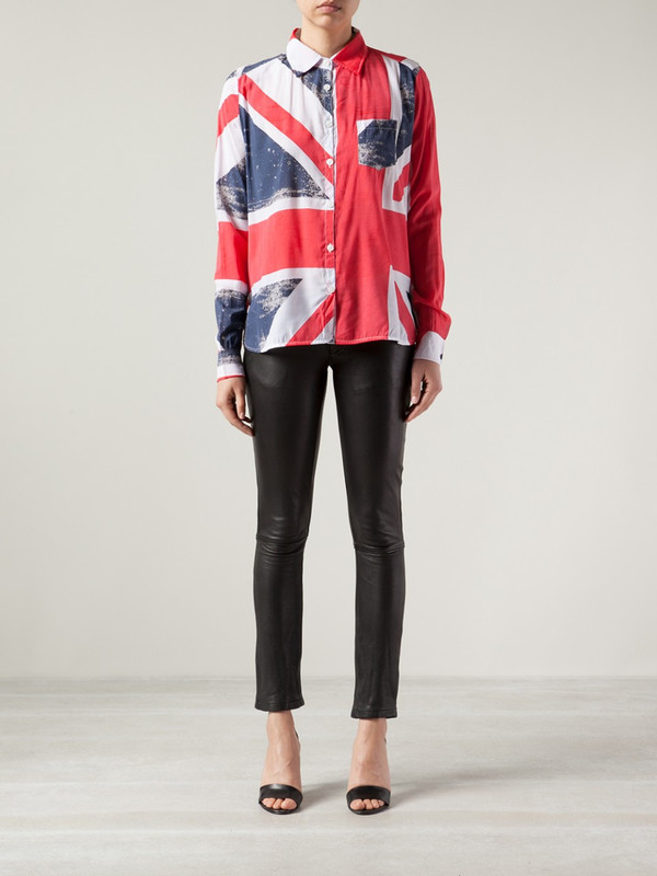 Religion Union Jack Shirt