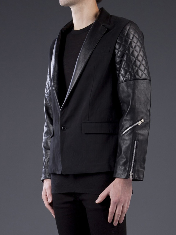 Sons Of Heroes Biker Arm Suit Jacket