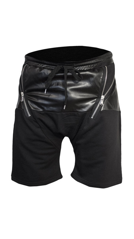 Sons Of Heroes Harem Zip Shorts