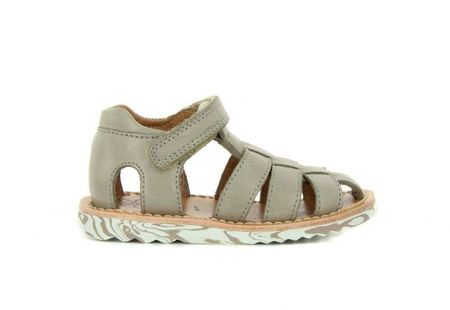Kid's Pom D'Api Waff Pappy Beige Leather Sandal