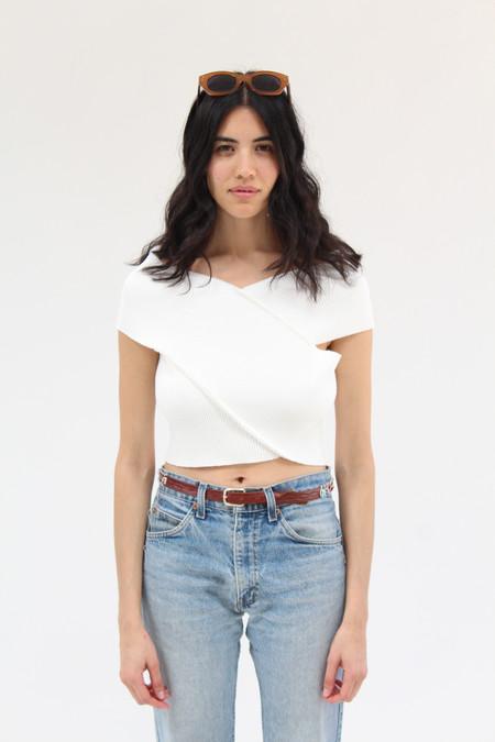 Desireeklein Ava Top White