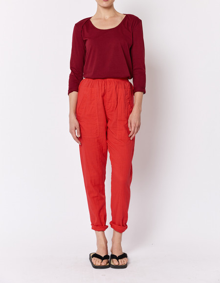 Built by Wendy Boxer Pants - Poppy