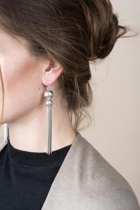 Sophie Buhai Benton Gates Earrings In Sterling Silver