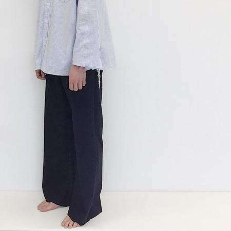 Johan Vintage Wool Navy Pant