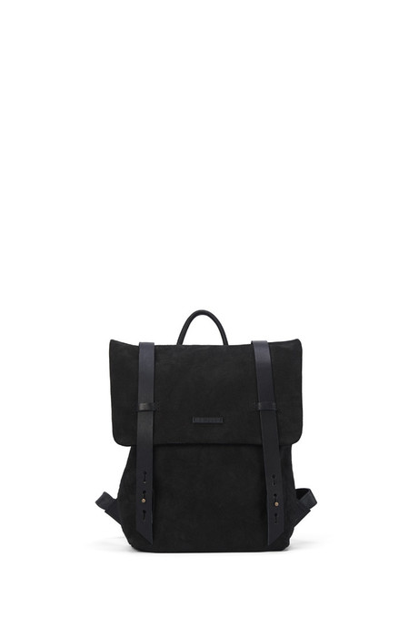 Lowell Fairmount Black Newport Leather