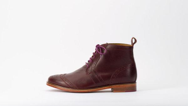 J Shoes Cobblestone Wingtip Boots