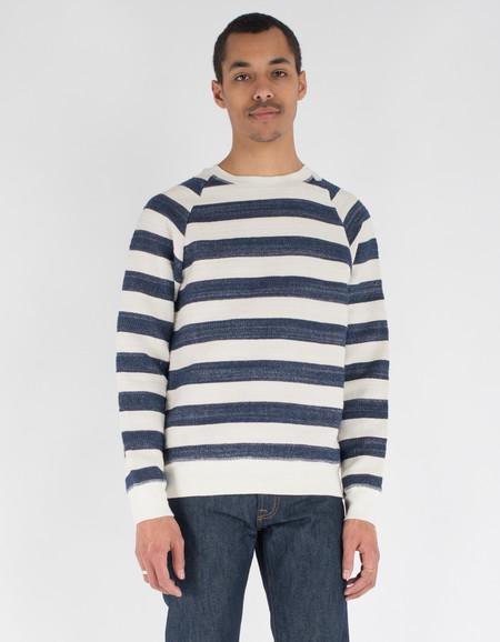 La Paz Cunha Sweatshirt Blue Stripes