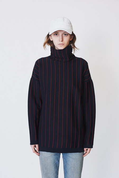 Reality Studio Stripe Yke Pullover