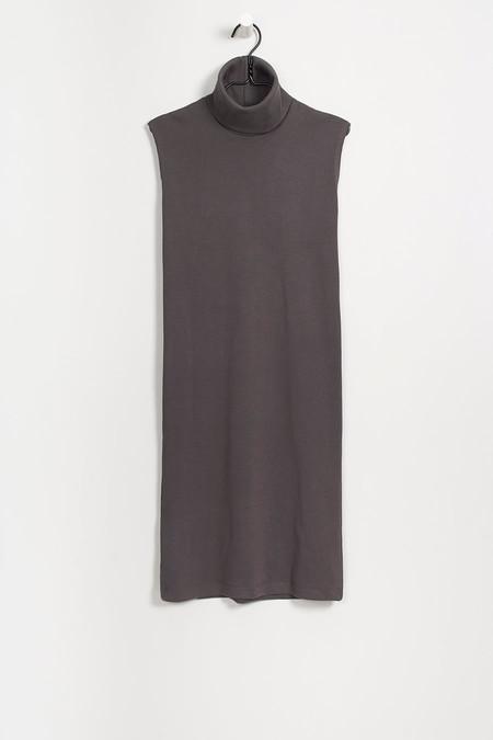 KOWTOW-RIB ROLL NECK DRESS