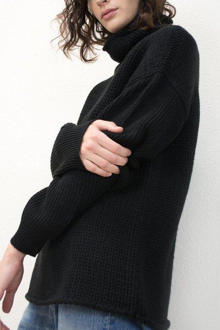 MICAELA GREG-FUNNEL NECK SWEATER