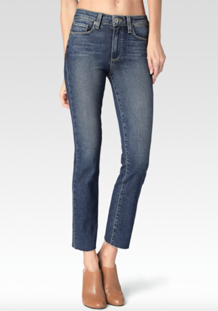 Paige Denim Jaqueline Raw Hem- Axel